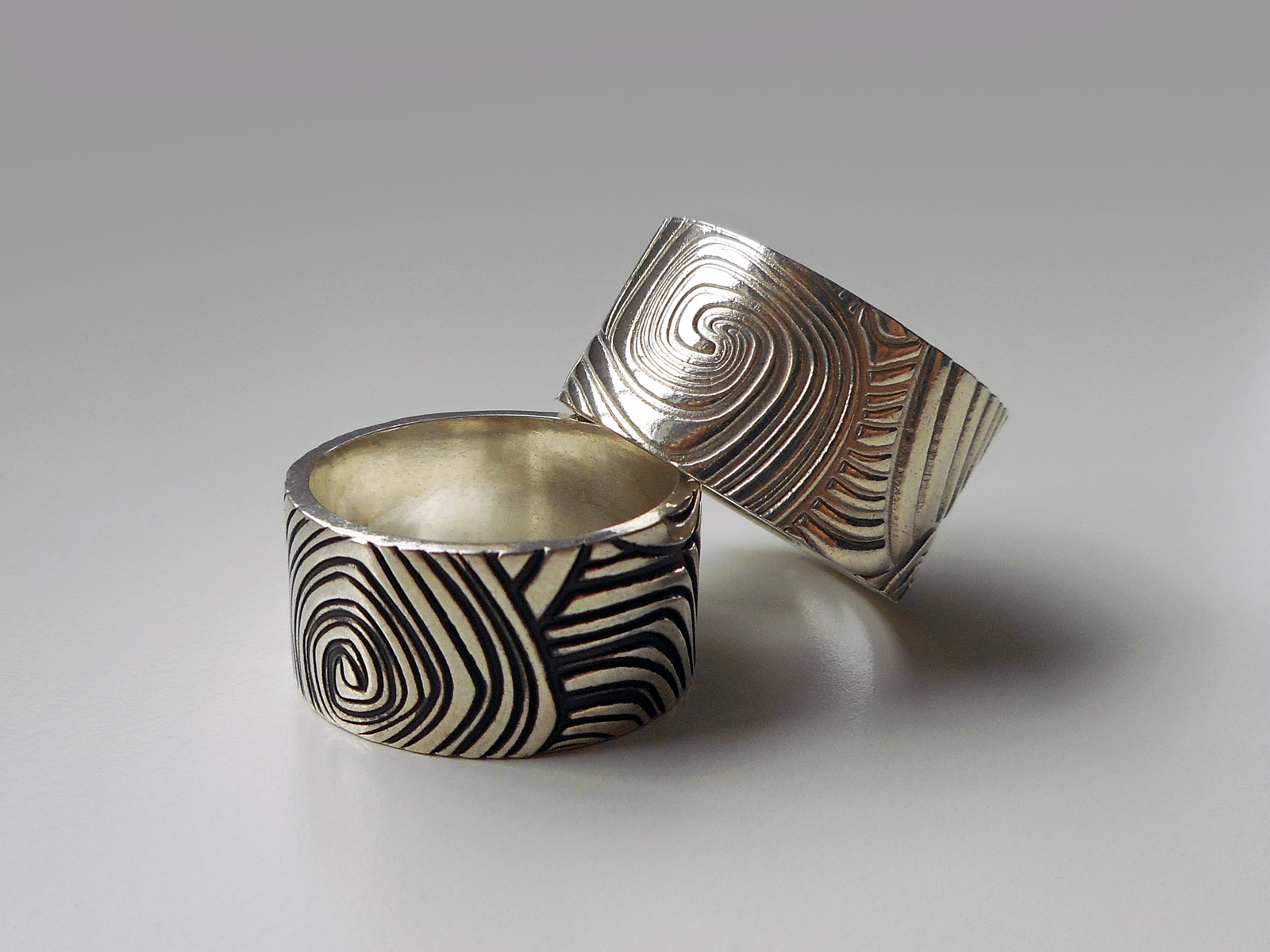 Polymer Clay Ring Gallery